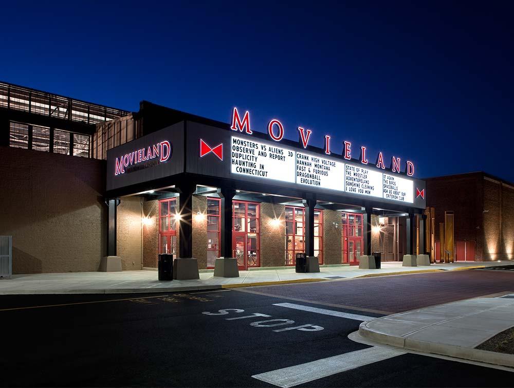 Bowtie Richmond Va >> Movieland at Boulevard Square - Commonwealth Architects